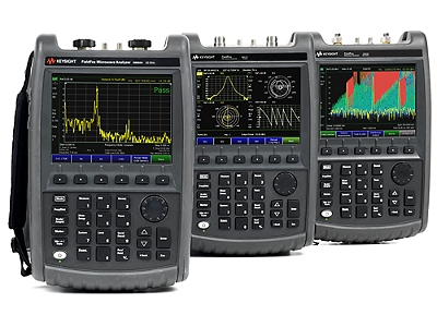 KeySight FieldFox Handheld RF and Microwave Analyzers have been added to  the list of supported devices - RadioInspector