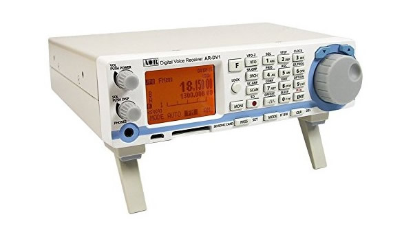 AOR AR-DV1 Digital Voice Receiver has been added to the list of